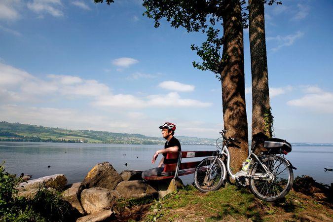 E-Bike Genuss-Tour Rund um den Zugersee