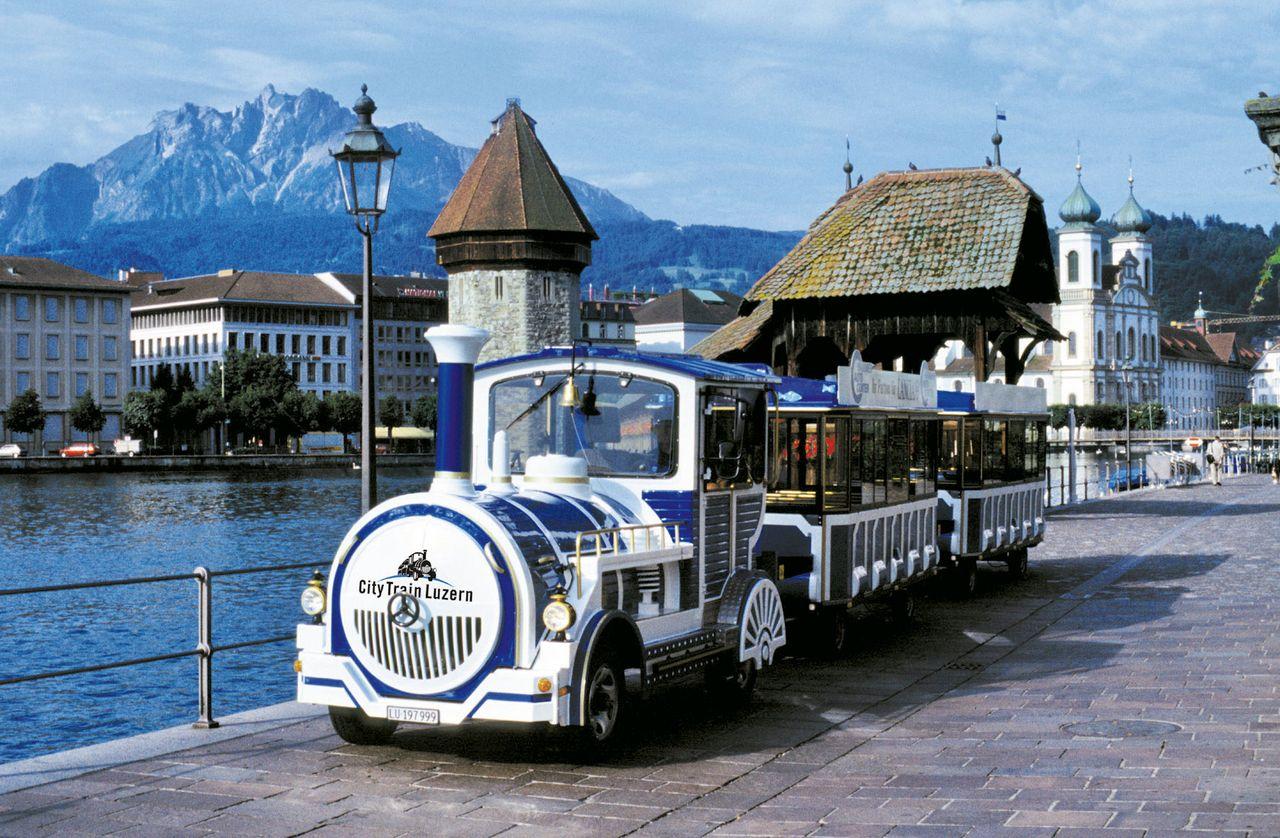 City Tour with City Train Lucerne