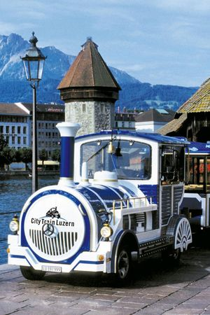 City Tour with City Train Lucerne