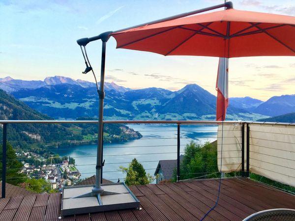 Mini Villa Lake Lucerne - direct at Rigi & Railway