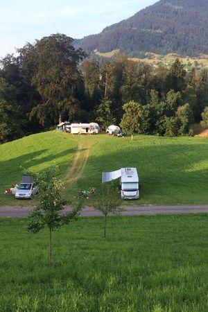 Campsite Gerbeweid, Weggis