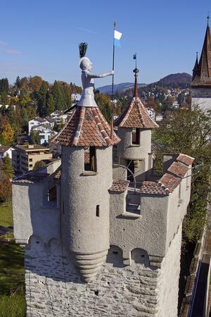 Museggmauer und ihre 9 Türme
