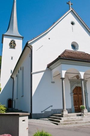 Kath. Pfarrkirche St. Wendelin Greppen
