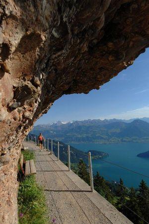 4. Felsenweg, Rigi
