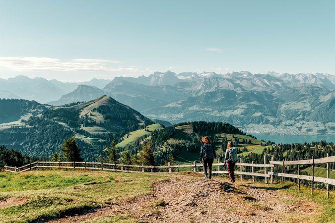 Tell Trail stage 3: Brunnen - Rigi Kaltbad - Lucerne