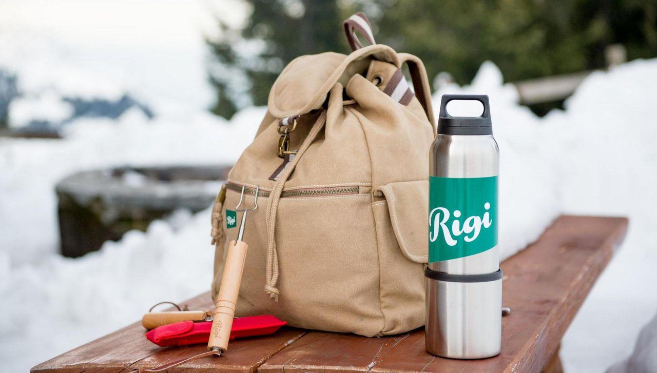 Grill-Rucksack für den winterlichen Grillplausch auf der Rigi