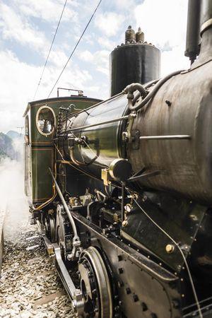 Rigi nostalgic steam trains