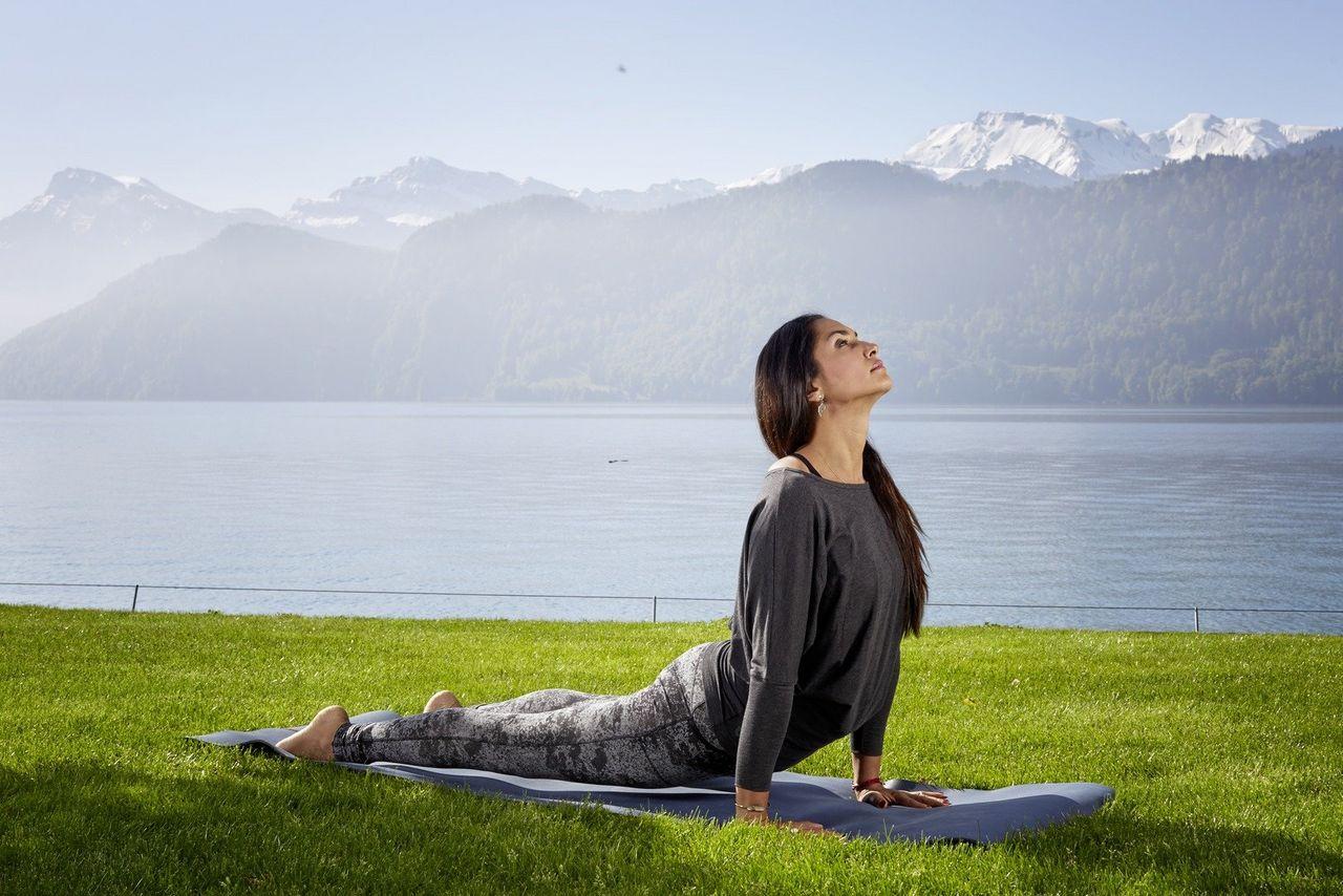 Yoga meets Weggis