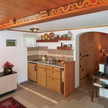 Ferienchalet Rigirolle 2-Zimmer-Wohnung Parterre