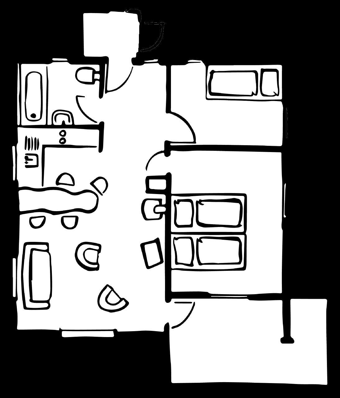 Ferienchalet Rigirolle, 1. Etage mit Balkon