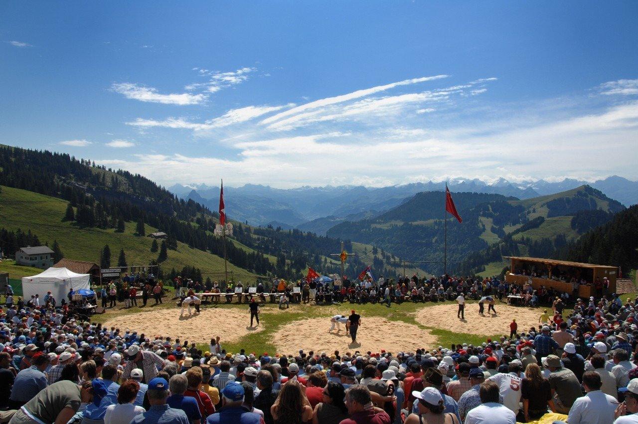 Rigi Wrestling and Alpine Sports Festival
